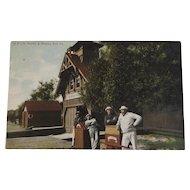 1908 US Life Savers and Station Erie, PA Postcard