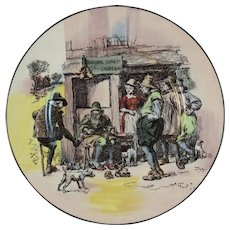Royal Doulton Old English Scenes The Cobbler Plate - 10 Inch Dinner Size