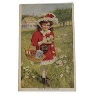 Heinz Trade Card Going Mamma's Errands