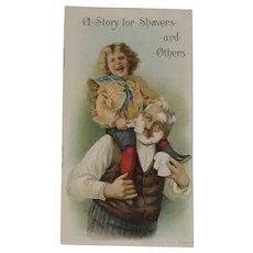 1900 Williams Soap Advertising Book A Story for Shavers and Others