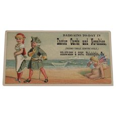 Easter Cards Trade Card Sharpless & Sons