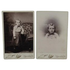 Photos of a 3 Year Old Child in 1892