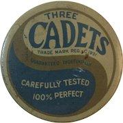 Three Cadets Prophylactics Tin