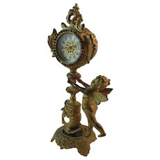 New Haven Cherub Mantel Clock
