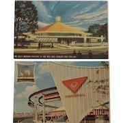 Two New York World's Fair 64-65 Postcards