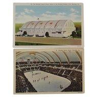 Two 1900s Hershey Pennsylvania Postcards