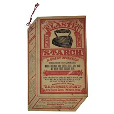 1914 Elastic Starch Advertising Booklet by Hubinger Bros