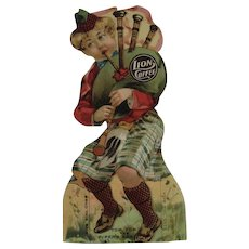 Lion Coffee Die Cut Paper Doll Tom Tom The Piper's Son - Red Tag Sale Item