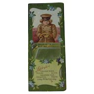 Libby's Chauffeur Book Mark Bookmark Edwardian