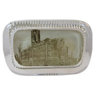 Norristown PA High School Glass Photo Paperweight