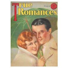 True Romances Magazine March 1931 Jules Cannert
