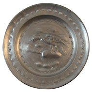 Pewter Eagle Plate European