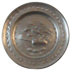Pewter Eagle Plate European