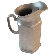 Wilton Pewter Mulberry Hill Tall Pitcher with Ice Lip for Water or Milk Columbia, PA Tableware