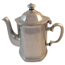 Wilton Pewter Mulberry Hill Coffee Pot Coffeepot Columbia, PA Tableware