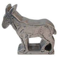 Donkey Doorstop by Wilton Pewter