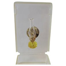 Judy Berman Chrysnbon Dollhouse Miniature Oil Lamp