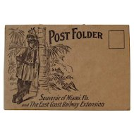 East Coast Railway Extension Postcard Souvenir Post Folder 22 Postcards Some Trains Railroad Bridges