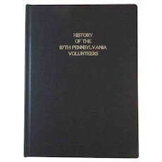 History of the 87th Pennsylvania Volunteers Civil War Book by George R. Prowell Eighty-Seventh Regiment York