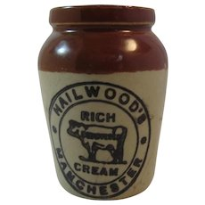 Hailwood's Rich Cream Crock Manchester Small Miniature Farm Crockery