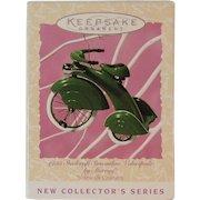 Hallmark Murray 1935 Steelcraft Streamline Velocipede Christmas Ornament 1997 Sidewalk Cruiser Series Keepsake