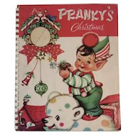 1940s Pranky's Christmas Pop Up Book Illustrated by Charlotte Byi