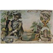 1907 Jamestown Exposition Postcard German Speigel Germany