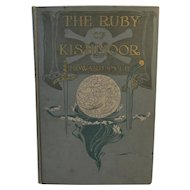 1908 The Ruby of Kishmoor Illustrated Book by Howard Pyle Pirate Illustrations