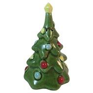 Vintage Christmas Tree Bell Japan Ceramics