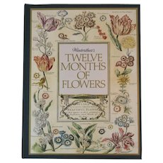 Winterthur's Twelve Months of Flowers Date Memento Book for Any Year with Color Plates Unused Bowles Prints