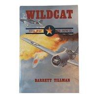 Wildcat the F4F in WW II Book by Barrett Tillman Aviation History World War Two 2 WWII US Navy Monoplane Fighter Plane Aircraft