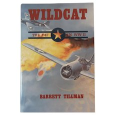 Wildcat the F4F in WW II Book by Barrett Tillman Aviation History World War Two 2 WWII US Navy Monoplane Fighter Plane Aircraft
