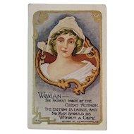 1907 Westerhouse Woman Postcard