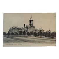 Postcard Upper Canada College Toronto Valentine & Sons Early 1900s