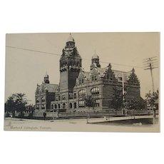 Unused Postcard Circa 1900's Harbord Collegiate Toronto Canada Valentine & Sons