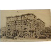 1907 Sepia Postcard King Edward Hotel, Toronto, Canada Valentine & Sons
