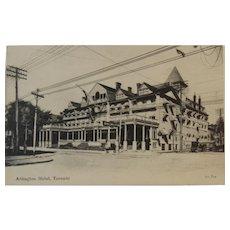 1907 Postcard Arlington Hotel Toronto Canada Valentine & Sons