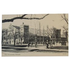1907 Postcard The Armouries Toronto Canada Valentine & Sons