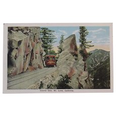 Postcard Granite Gate, Mt. Lowe, California