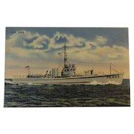 Official U. S Navy Photograph Postcard of U. S. S. PC449