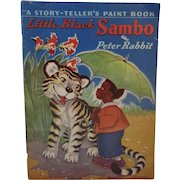 1941 Little Black Sambo and Peter Rabbit A Story-Teller's Paint Book Illustrated by Milo Winter