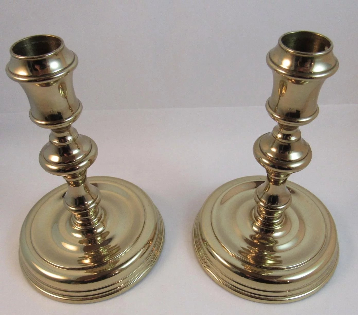 Baldwin Brass Candlesticks Forged in America Candle ...