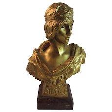 'La Sybille' Bust by Societe Des Bronzes De Paris – Emmanuel Villanis (1858-1914)