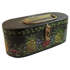 Toleware Hand Painted Box Tole
