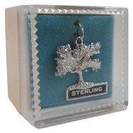 Kapok Tree Sterling Silver Charm in Original Box