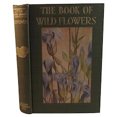 1934 The Book of Wild Flowers with Color Plate Illustrations by Neltje Blanchan Little Nature Library