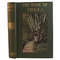 1934 The Book of Trees with Color Plate Illustrations by Julia Ellen Rogers Little Nature Library