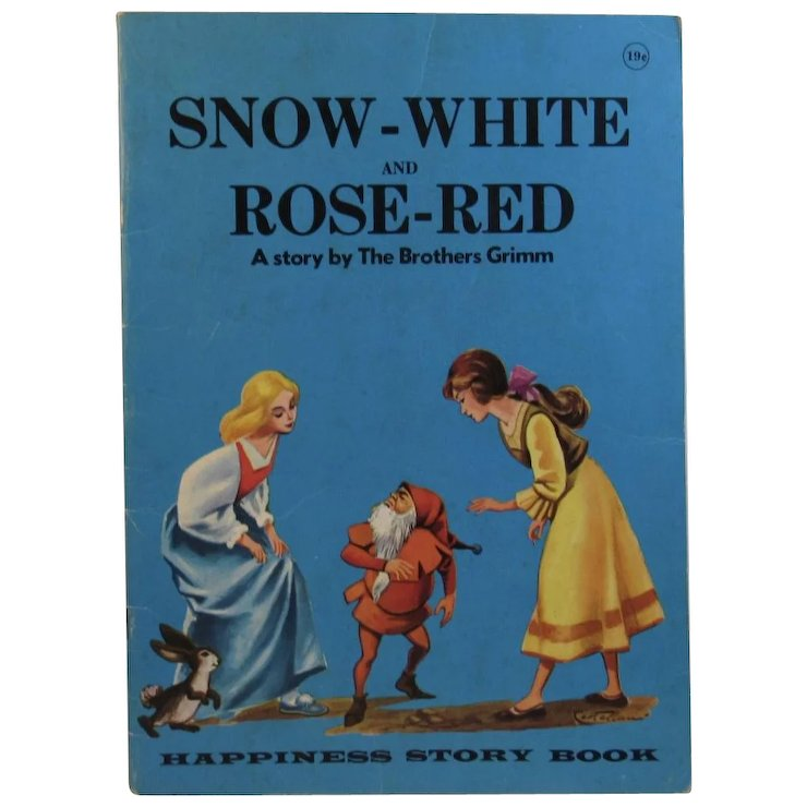 snow white and rose red story with pictures