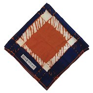 Givenchy Cotton Scarf Bandana Large Hanky Handkerchief