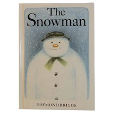 The Snowman Miniature Book by Raymond Briggs First American Edition 1989